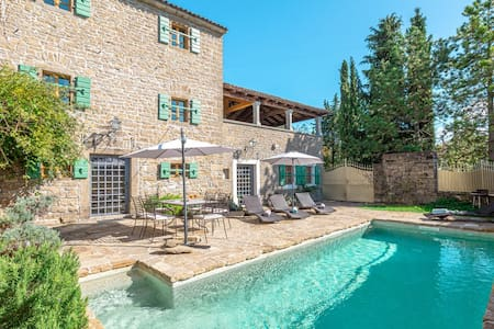 Villa Groznjan Hills with a pool