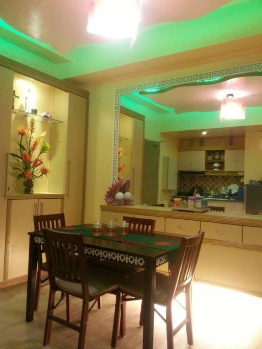 Romantic Dining area