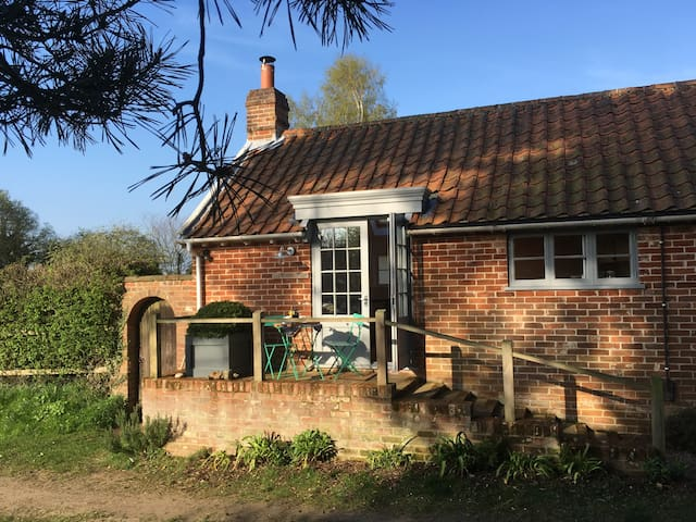 A delightful annexe to a charming country house.