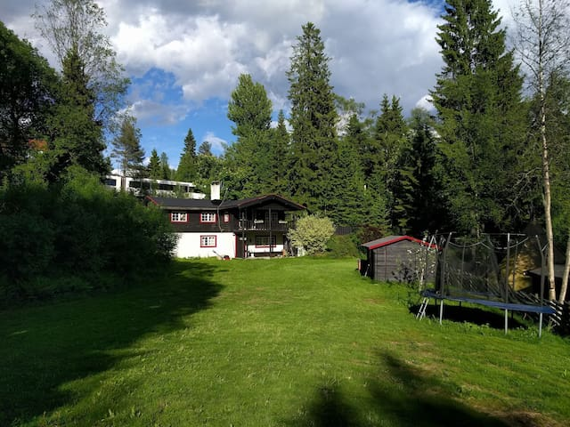 Charming wooden house located near Holmenkollen