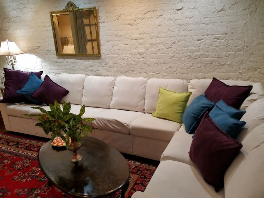 """Loads of Comfy Seating for Your Group. """"The Space was Big and Roomy"""", Nicole September 2016"""