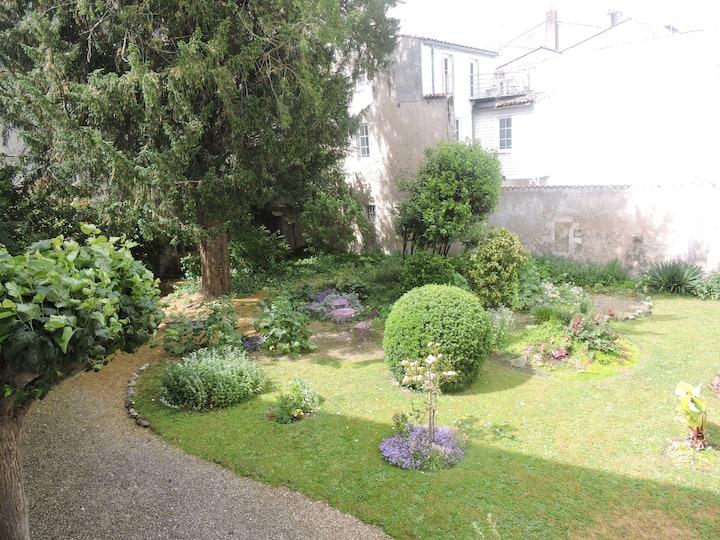 studio sur jardin