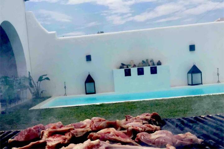 Villa d'hôte neuve à hammamet
