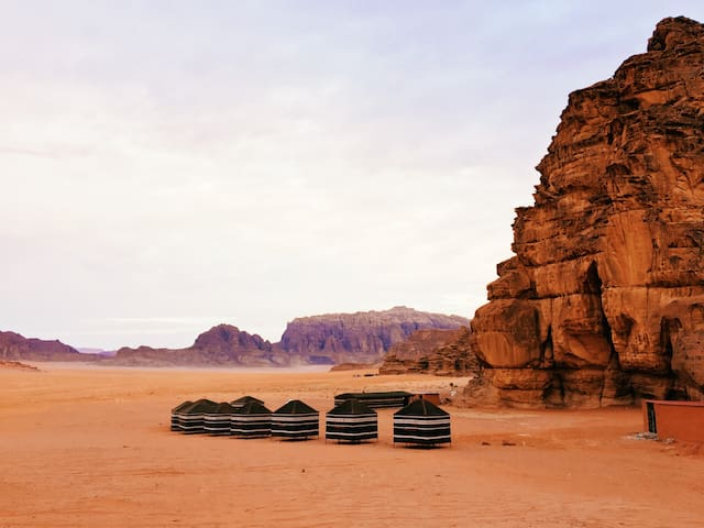 Sand and Stone camp - Wadi Rum desert