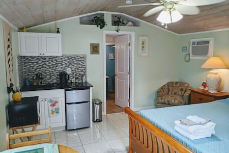 Backyard Cottage mins from downtown Dunedin &beach