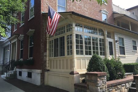Quiet & Charming Historic District Apartment