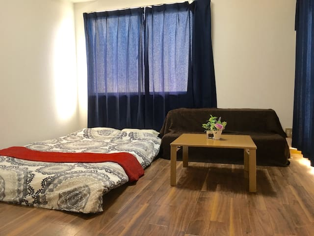 47Near Hakata sta*4ppl*wifi - Fukuoka - Apartment