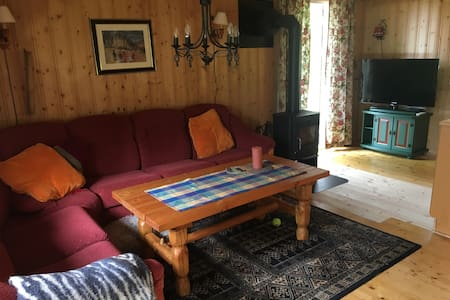 Koselig hytte på Ørskogfjellet ved Ålesund/Molde
