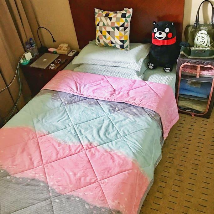 这是专门为女生量身定制的床