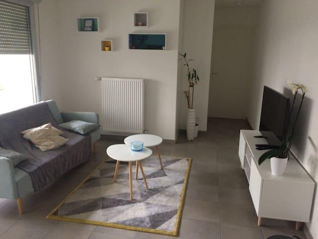 T3 moderne et cosy à proximité de Lyon - Rillieux-la-Pape - Flat