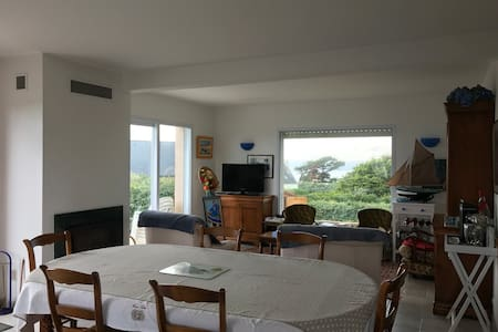 Maison de vacances vue mer