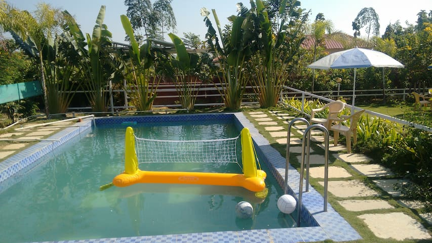 Farm house stay-swimming Pool near Hyderabad - Telangana - Haus