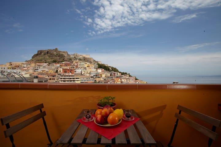 B&B La Meridiana - Camera Tripla - Castelsardo - Bed & Breakfast