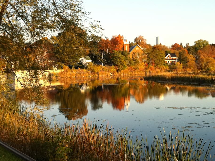 Stirling in the fall.