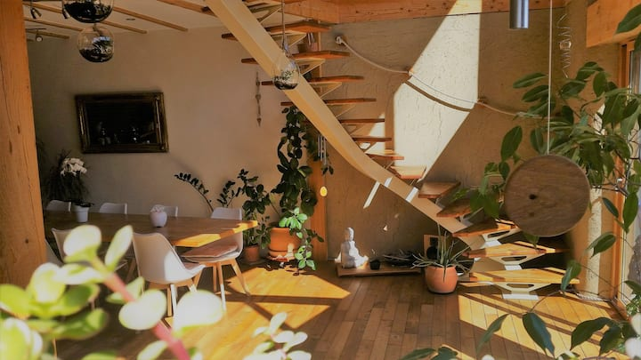"""""""La Chrysalide""""  maison écologique"""