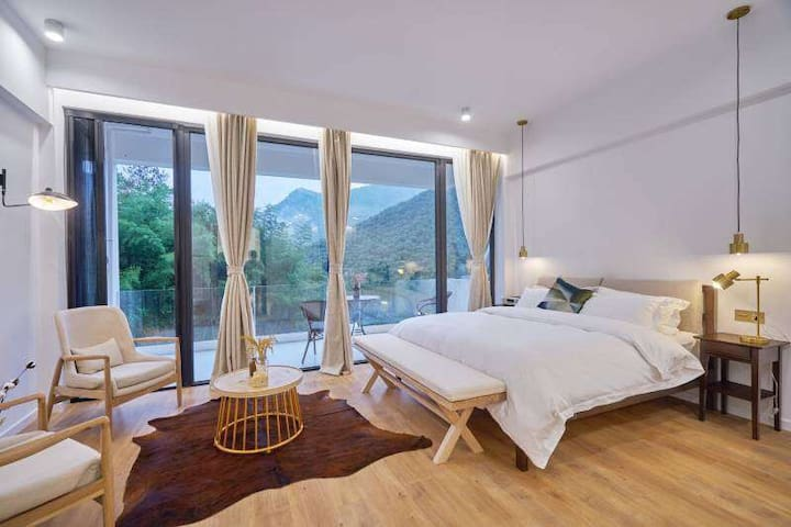 brand new bedroom with great view@MoGanShan Mout