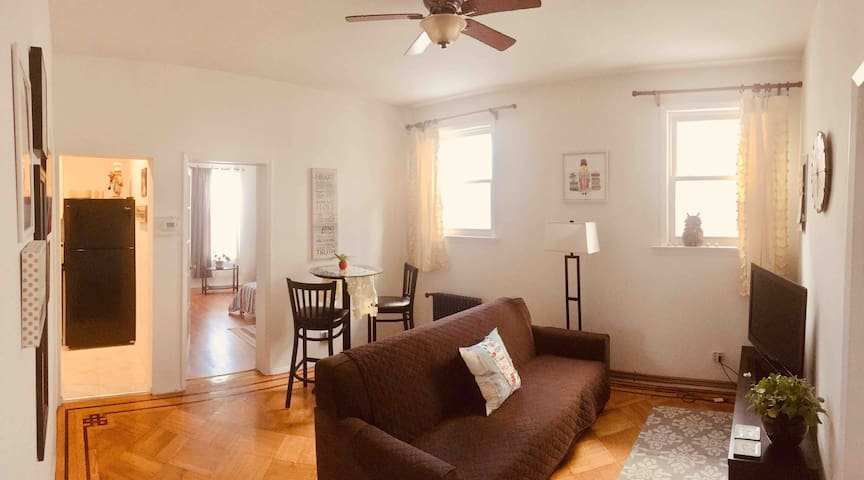 Spacious, Clean, Can be used as 2BR-Ridgewood,NY