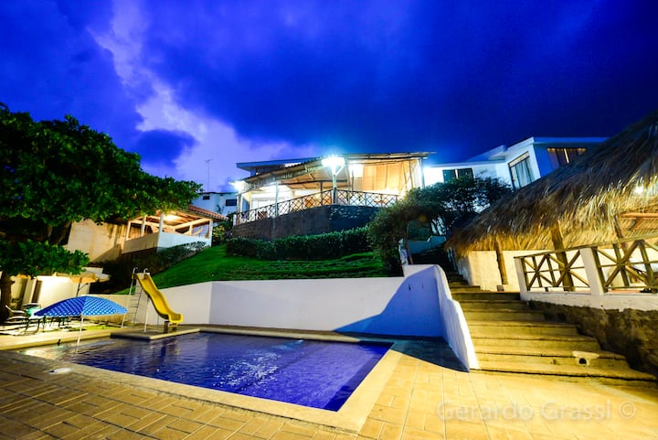 """Casa de Playa, """"Rincón Azul"""""""