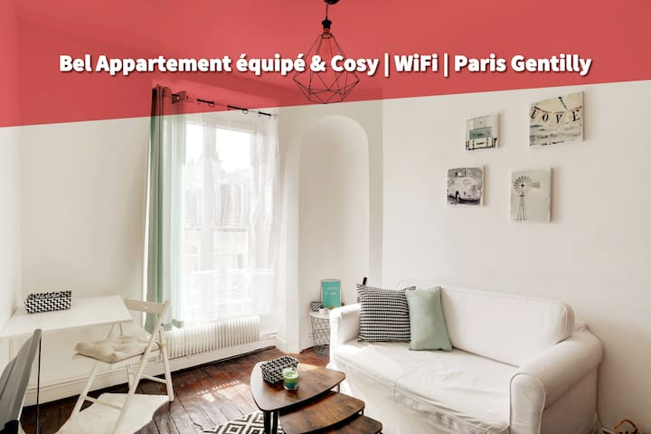 Lovely flat close to Saint Michel / Eiffel Tower