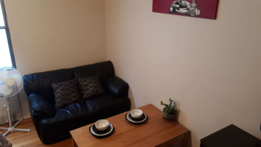 seating area of the bedroom