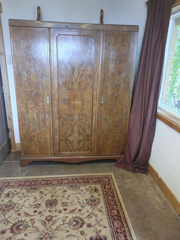 Large 1920 3-door armoire for your clothes or storage