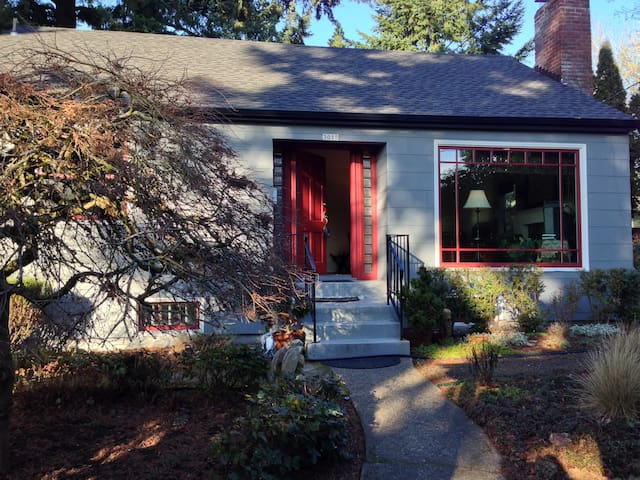 Lovely and charming PDX house in Multnomah Village - Portland