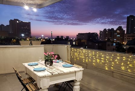♛ Royal Penthouse 1BR Rooftop \\ Insane Terrace ♛