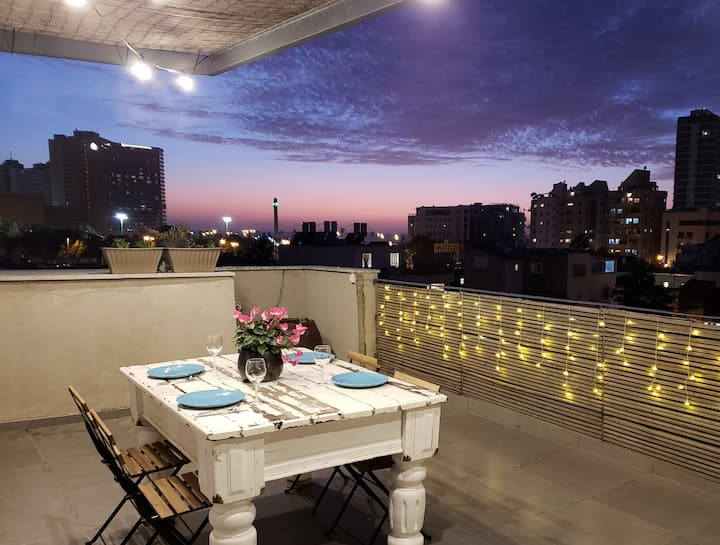 ♕ Royal Rooftop Penthouse 1BR + P. Huge Balcony ♕
