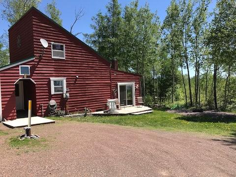 La petite maison d'un comté.