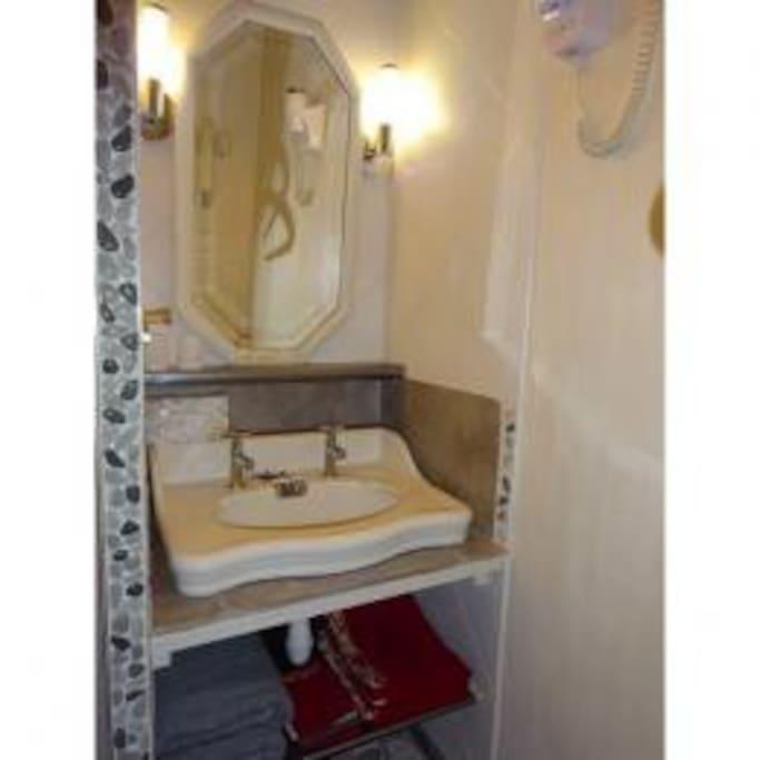 salle d'eau et wcprivatifs