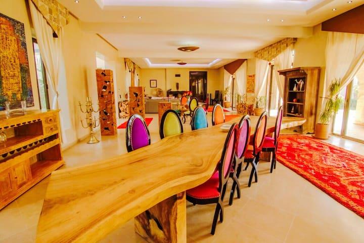 Artist luxury modern villa - Marrakesh - Villa