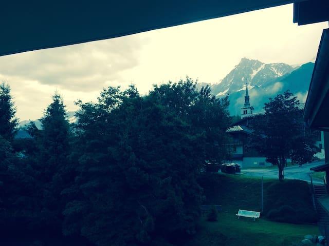 appartement coquet aux Houches vallée de chamonix - Les Houches - Departamento