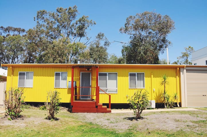 The Yellow house!