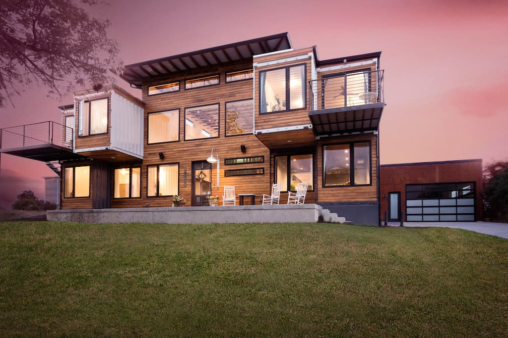 Unique Shipping Container Home in Denver