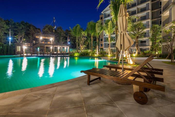Handsome 1 Bedroom Apartment @Nai Yang beach –250m