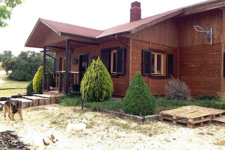 Casa de madera en plena naturaleza - San Agustín de Guadalix - Σπίτι
