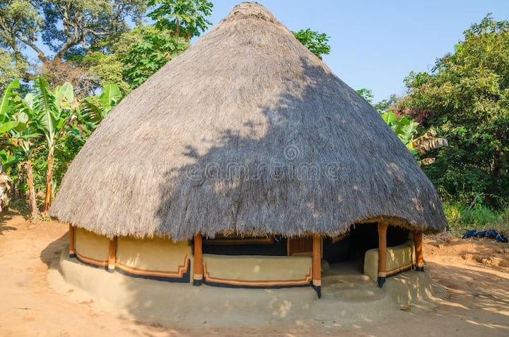 Traditional Africa Mud House in Nairobi