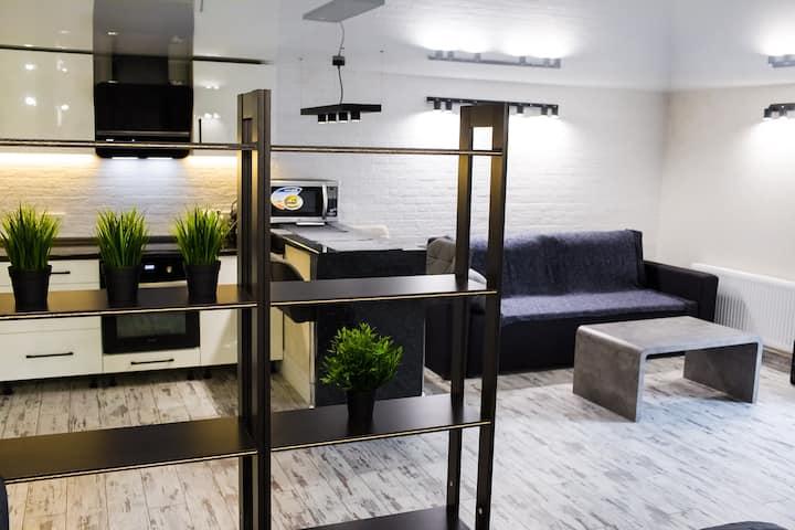 Комфортные апартаменты в LOFT дизайне