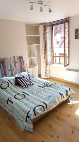 Charming bedroom close to the old town of Boulogne