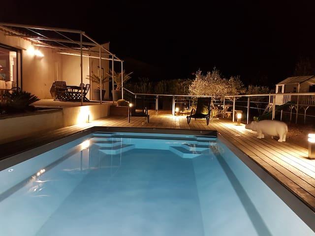 Villa avec piscine - Cuges-les-Pins - Casa