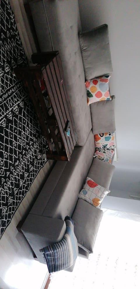 Otantik ve sıcak bir oda