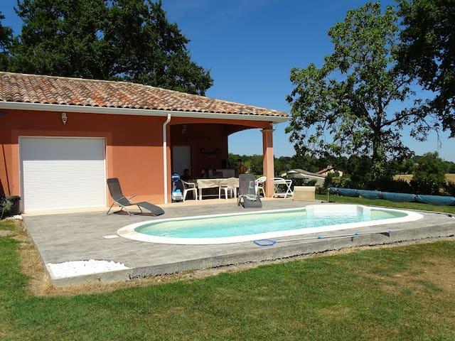 LA GANJO DOU FORT - Castelnau-Magnoac - Rumah