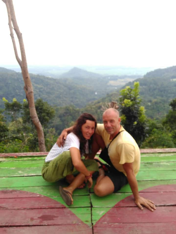 Happiness homestay with the nature area,