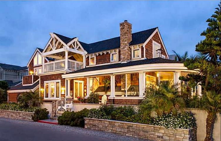 Luxury Del Mar Craftsman Home w/ Ocean Views & Steps to Beach - Del Mar - Maison