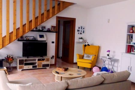 Cosy family house in safe and green wine area - Quinto - Apartemen