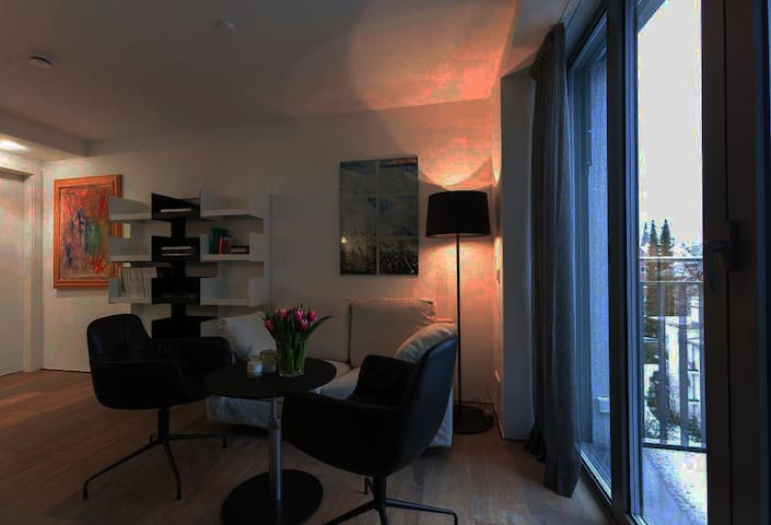 Phenomenal 2 room apartment in focal point of city