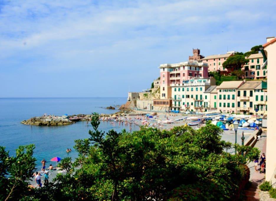 Genova sturla via vernazzola riviera ligure appartamenti in affitto a genova liguria italia - Arredo bagno via gramsci genova ...