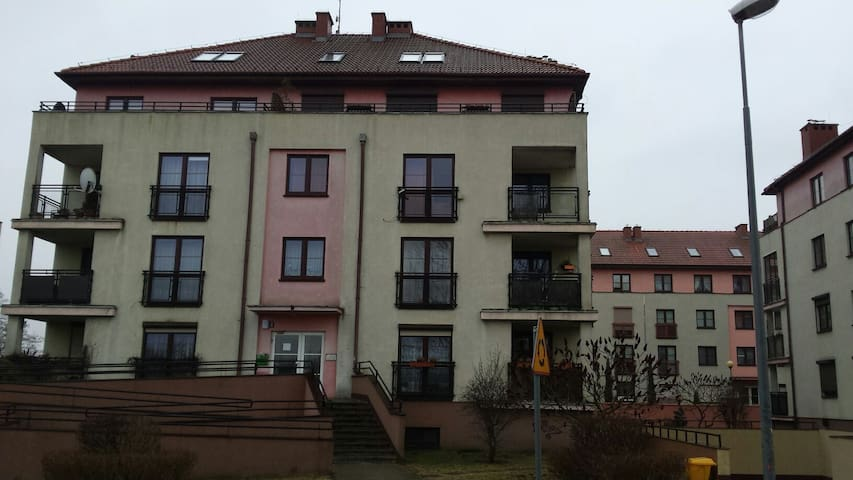Spacious apartment, convenient loc. - Szczecin - Appartement