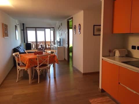 Luxury beautiful apartment directly on the slopes
