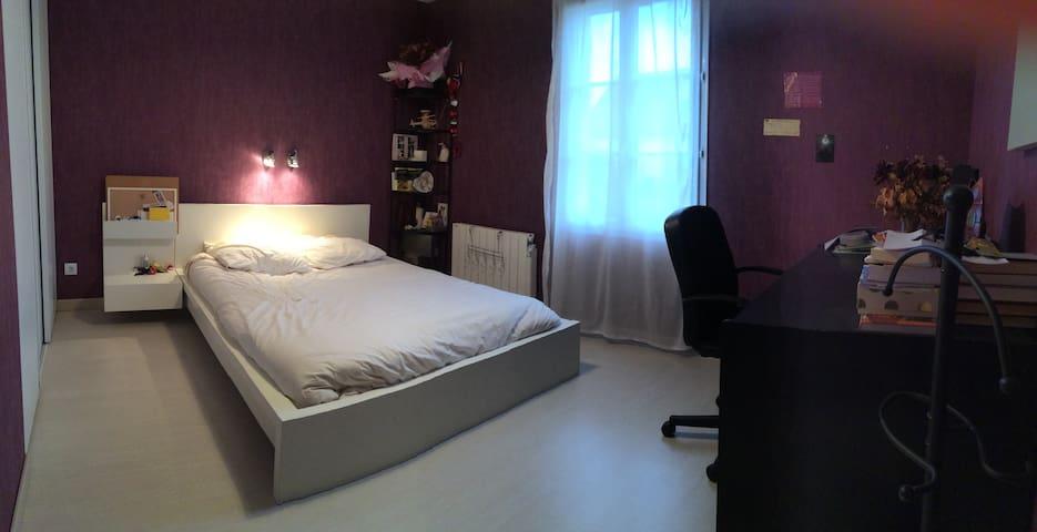 Chambre 13 m2 dans maison au calme - Vimory - Casa